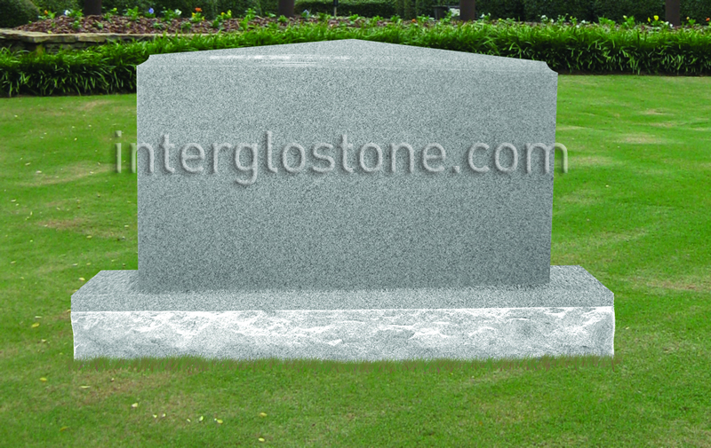 Apex Top Headstone