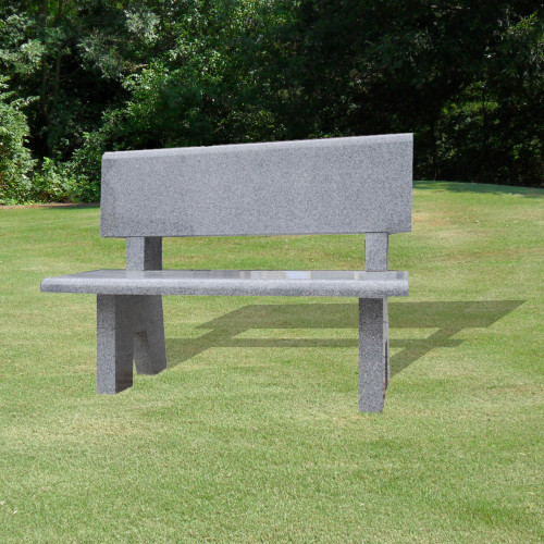Bench with Flat Back-Background
