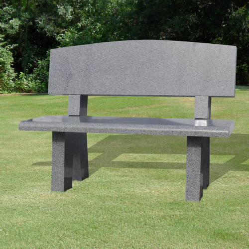 Bench with Oval Back-Background