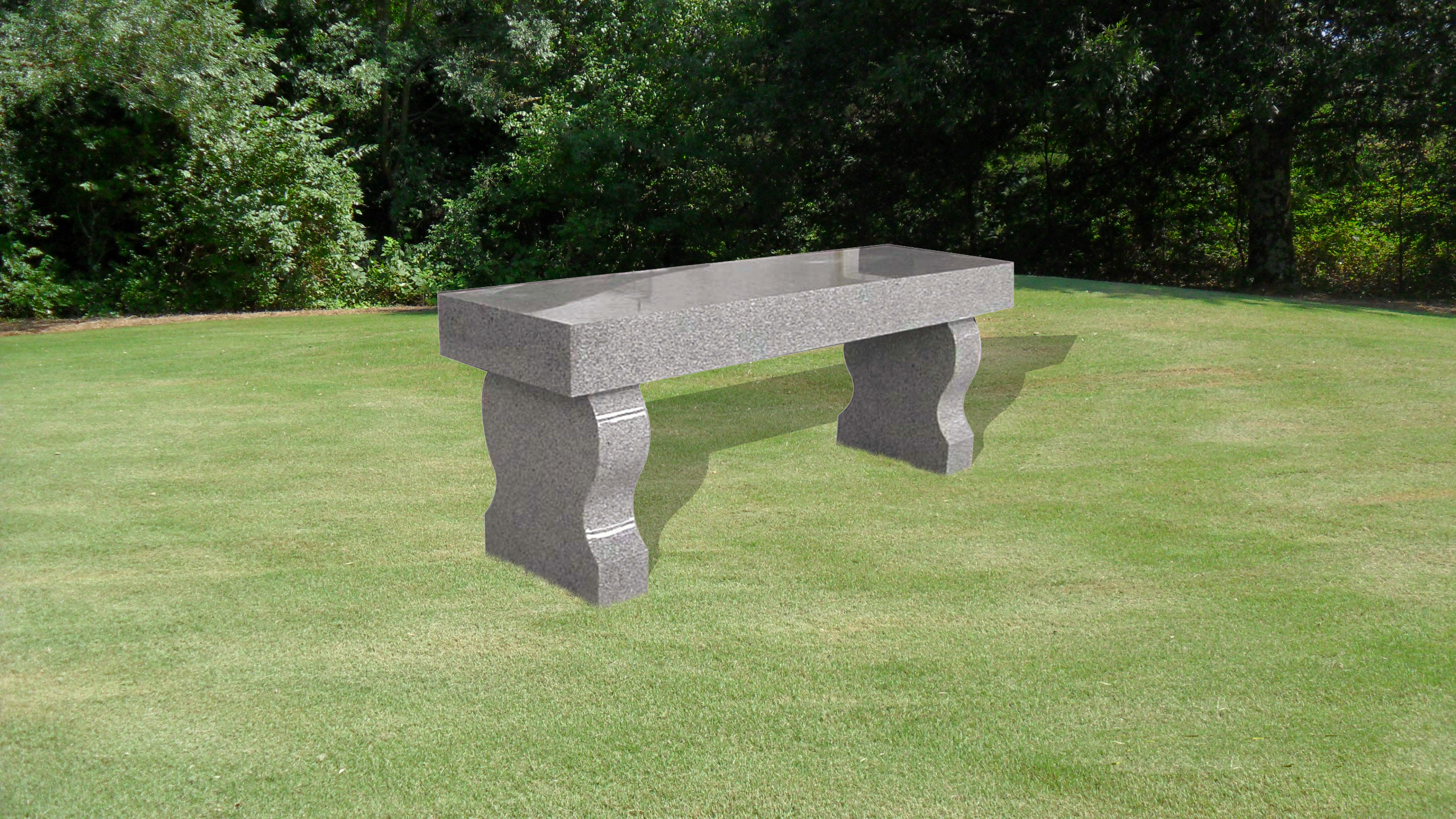 Bench with Straight Seat