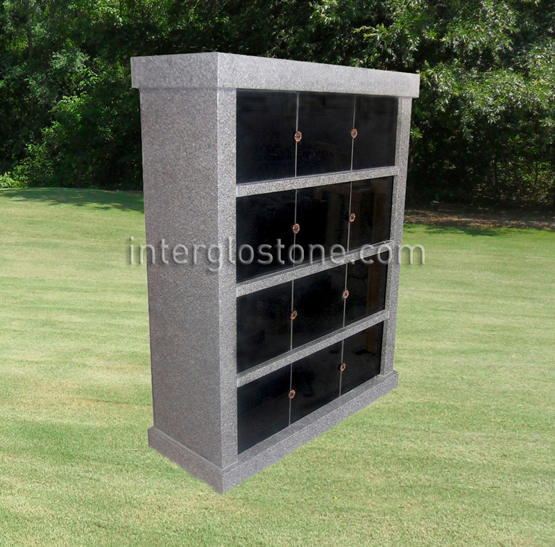 12 Niche Single Sided columbarium