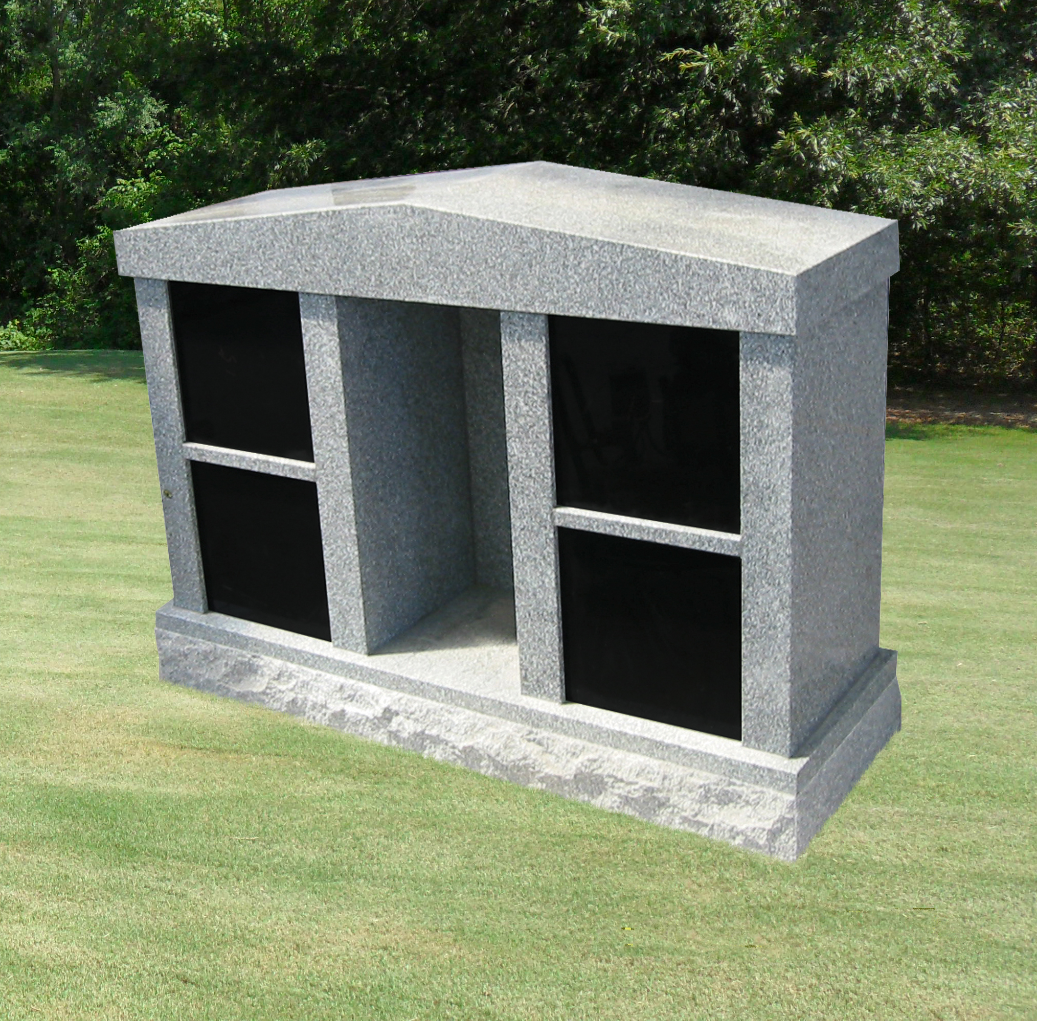 4 Niche MEMORIAL WITH Roof Top