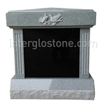 CREM-406-S-Four Niche With Fluted Columns-Front Viewweb-feature