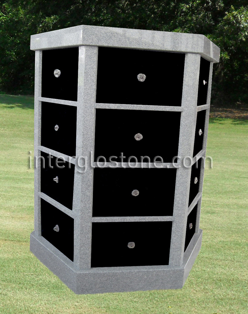 48 Niche Hexagonal columbarium