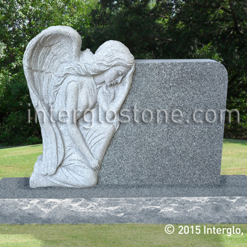 Grieving Angel on Rock (1)web
