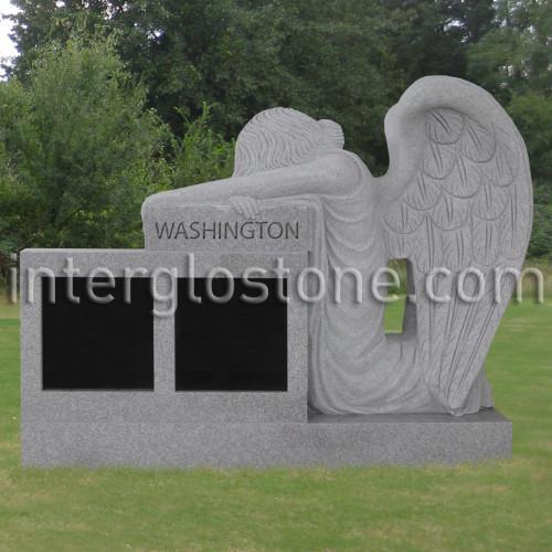 Kneeling Angel 3 Cremation Memorial (3)web