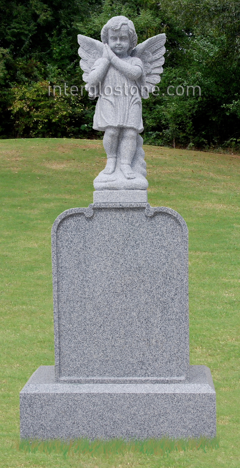 Praying Angel Headstone