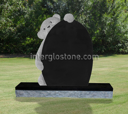 Teddy Bear 1 Deluxe Headstone