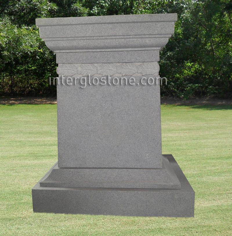 Acanthus Headstone