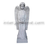 Angel with Flowers Statue
