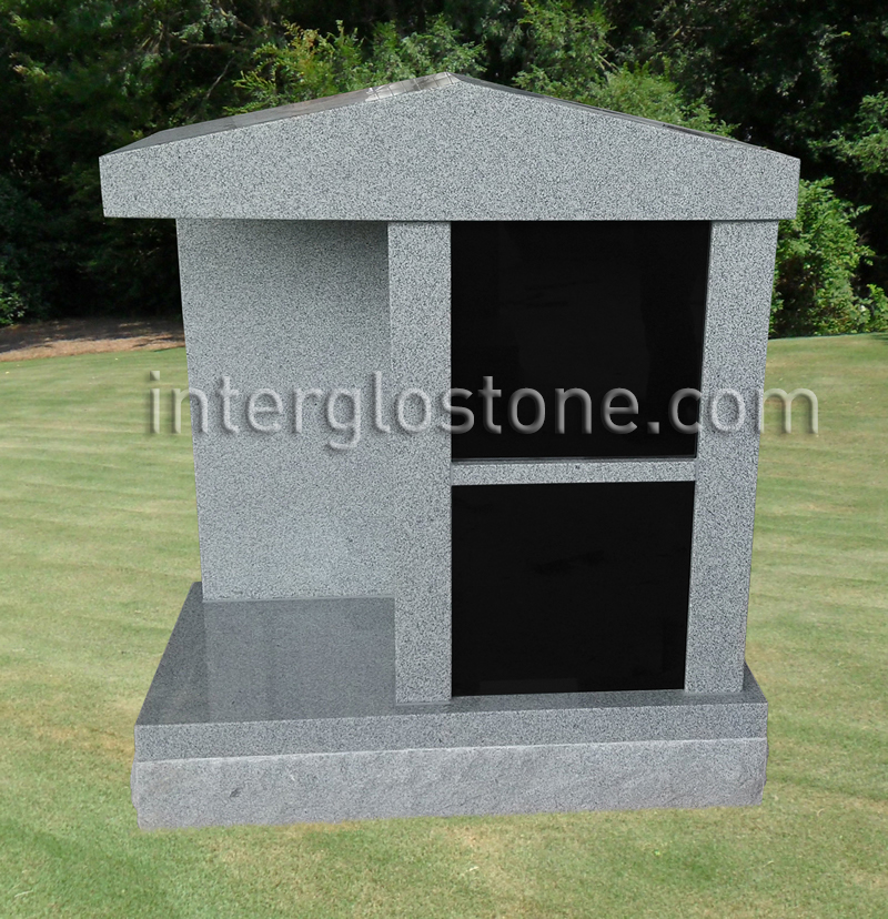 2 Niche MEMORIAL WITH Roof Top
