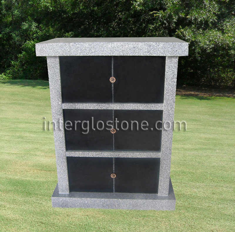 6 Niche Single Sided columbarium