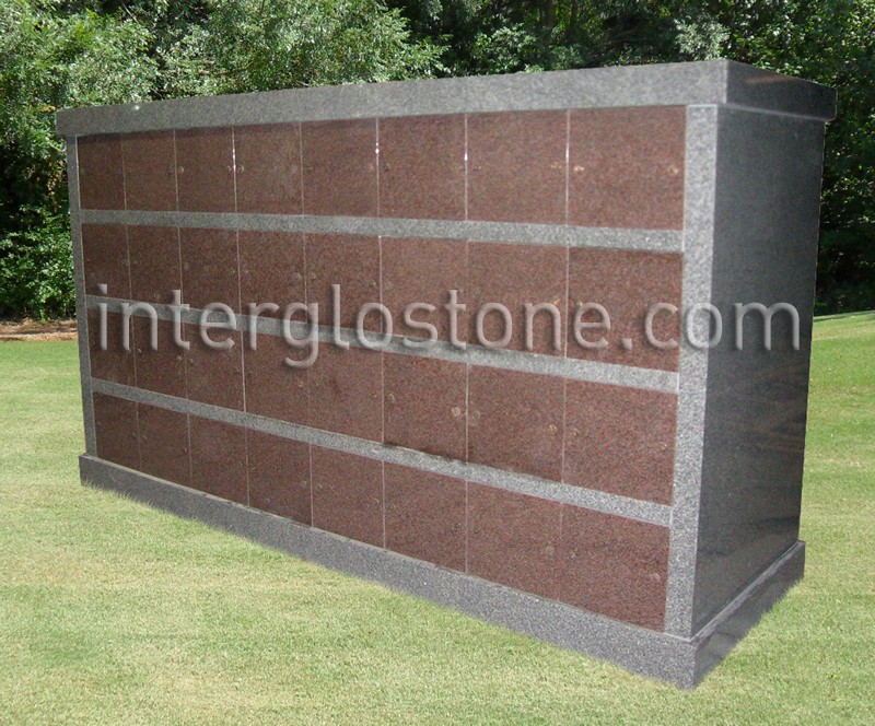 64 Niche Double Sided columbarium