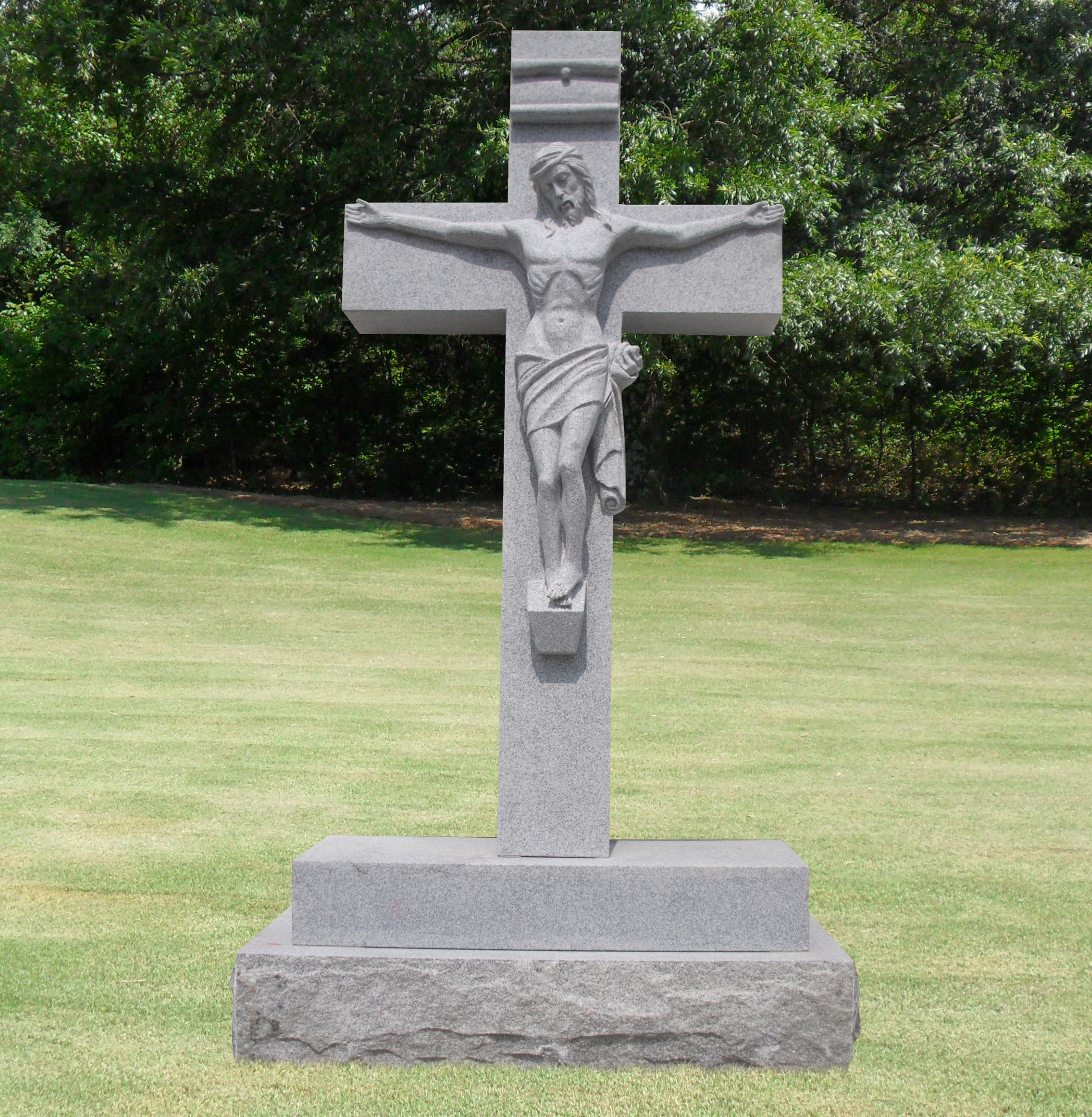Crucifixion Headstone