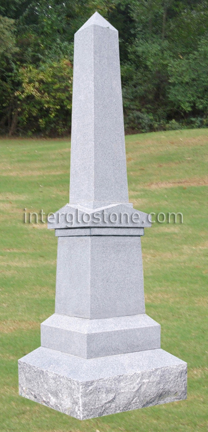 Fancy Obelisk Headstone