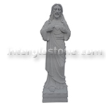 Sacred Heart of Jesus A STATUE