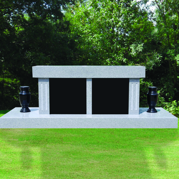 Interglo Stone Cremation Benches