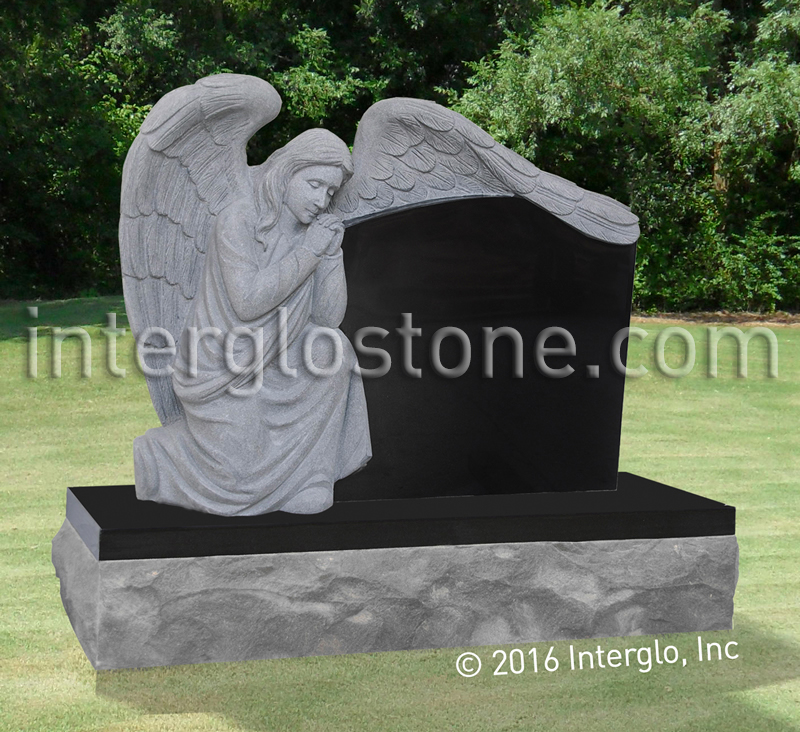 Praying Angel 1 Headstone
